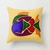 Fish Throw Pillow