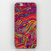 Shaping the Spectrum iPhone & iPod Skin