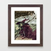 Wicked Witch of the East Framed Art Print