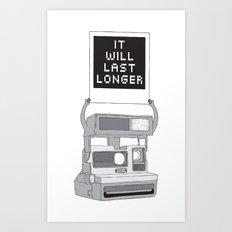 Take A Picture Art Print
