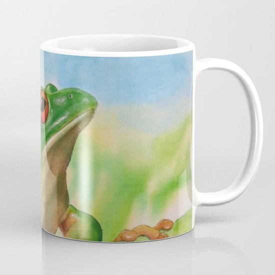 Green Treefrog Mug