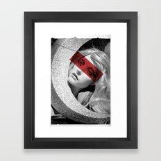 Red band Framed Art Print
