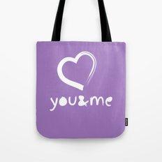 u&me Tote Bag