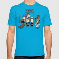 The Busters Are In! Mens Fitted Tee Teal SMALL