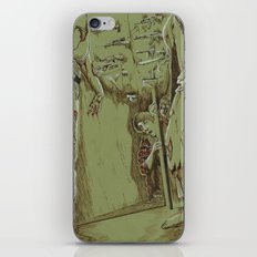 Zombies in the Hall iPhone & iPod Skin