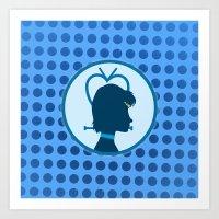Sailor Mercury Art Print