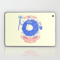 Mischievous donut Laptop & iPad Skin