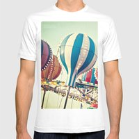 Sounds Of Summer  Mens Fitted Tee White SMALL