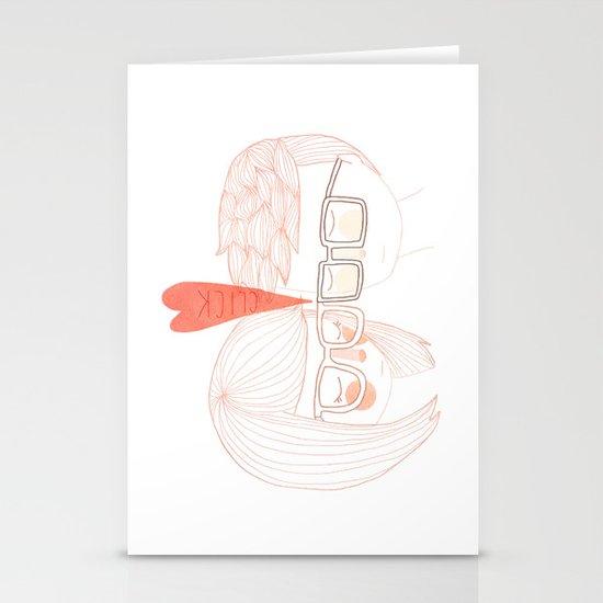 Nerd Kiss Stationery Card