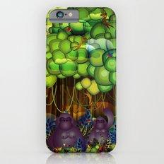 Jungle of colors iPhone 6 Slim Case