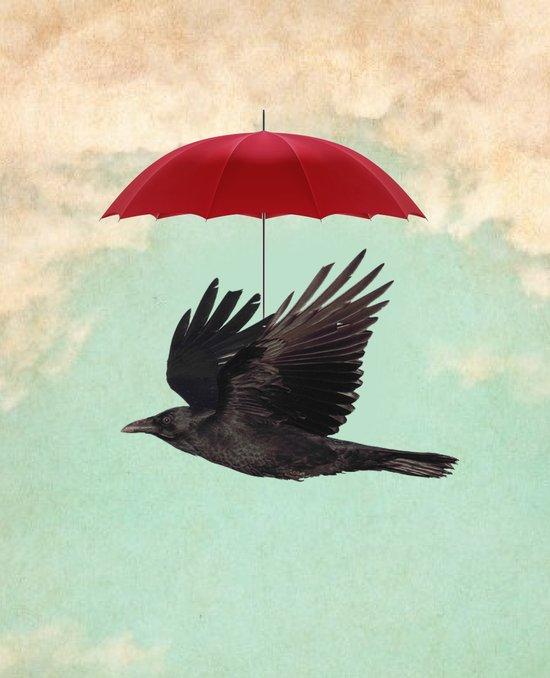 Raven Cover Canvas Print