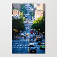 Uptown No. 4 Canvas Print