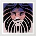 Lion of Judah II Art Print