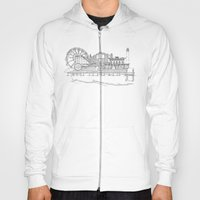 The Jersey Shore by the Downtown Doodler Hoody
