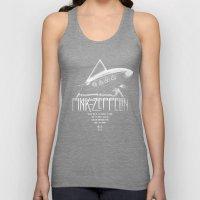 Pink Zeppelin Unisex Tank Top