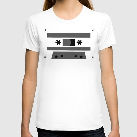 Black and White Tapes 45 T-shirt