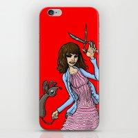Pierrot Le Fou iPhone & iPod Skin