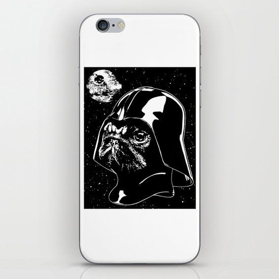 Pug Vader iPhone & iPod Skin