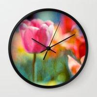 hazy Wall Clock
