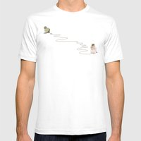Young Love Mens Fitted Tee White SMALL