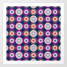 Lovely Pattern IV Art Print