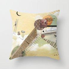 Rue de la Persévérance Throw Pillow