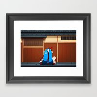 Itamae Framed Art Print