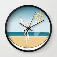 Summer Time Wall Clock