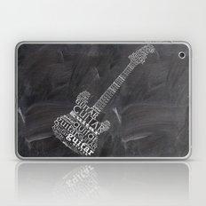 Guitar On Chalkboard Laptop & iPad Skin