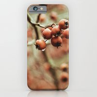 iPhone & iPod Case featuring crabapples by Bonnie Martin