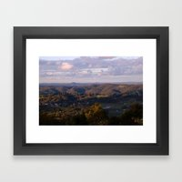 View From Mt Lofty Framed Art Print