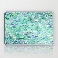 Marble Mosaic in Mint Quartz and Jade Laptop & iPad Skin