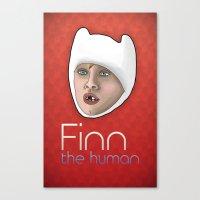 Finn the human Canvas Print