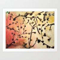 Look Up Nature Abstract … Art Print