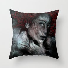 red_1 Throw Pillow