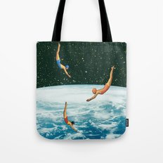 Space Jumps Tote Bag