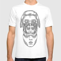 Layers Mens Fitted Tee White SMALL