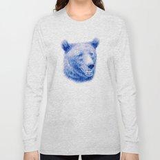 Brown bear is blue Long Sleeve T-shirt