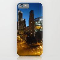 iPhone & iPod Case featuring Petco Park at Night by Elizabeth Tompkins