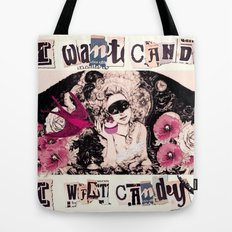 I want Candy! (Marie Antoinette) Tote Bag