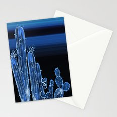 Painted Desert Blue Stationery Cards