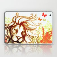 Beast and the Butterflies Laptop & iPad Skin