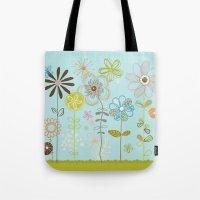 Belles Fleurs Tote Bag