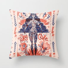 Miss Universe Throw Pillow