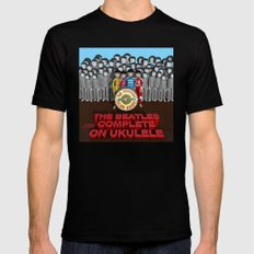 Sgt. Pepper's Lonely Hearts Club Band Black SMALL Mens Fitted Tee