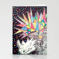 Rhino Party Stationery Cards