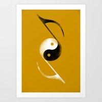 Balance Music Art Print