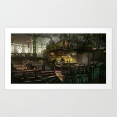 kodran mess hall Art Print