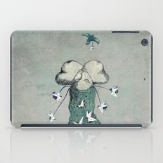 Origami's passion -  a collaboration between Christelle Guilhen and Gwenola de Muralt iPad Case