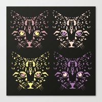 CAT FANTASY Canvas Print